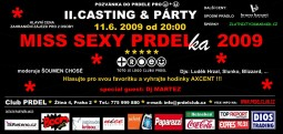 II. casting a party Miss Sexy Prdelka