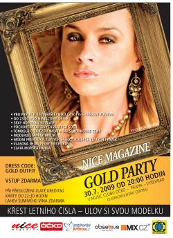 NICE magazine GOLD PARTY