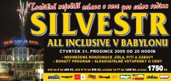 SILVESTR ALL INCLUSIVE v BABYLONu :